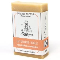 savon-artisanal-a-froid-lait-de-chevre-avocat
